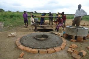 The Water Project: Jeeja I B Hand Dug Well -