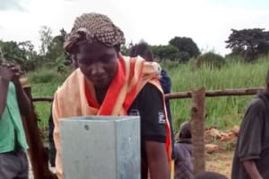 The Water Project: Kabukye Trust Hand Dug Well Project -