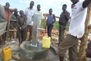 The Water Project: Nkwenda I Obiya Chobo Hand Dug Well Project -
