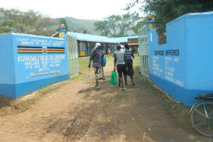 The Water Project: Kuvasali Health Centre Well Rehabilitation Project -