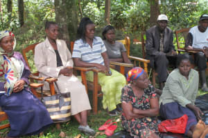 The Water Project: Efwetero Cultural Development Self Help Group New Well Project -