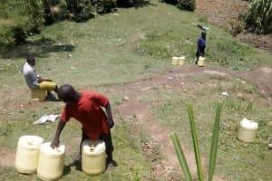 The Water Project: Ilesi Community, Shamwama Spring -