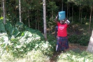 The Water Project: Ijinha Community, Emuyokha Spring -