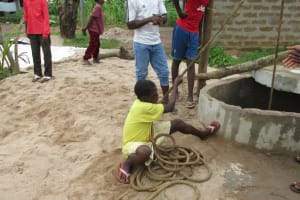 The Water Project: Rotifunk Well Rehab -