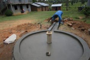The Water Project: Ebenezer Praise Centre Church Well Rehabilitation -
