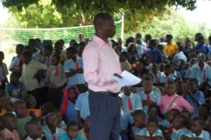 The Water Project: Bulima C.O.U. Primary School New Well Project -