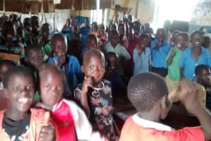 The Water Project: Kigezi Primary School New Well Project -