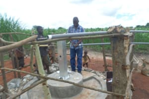 The Water Project: Lamvorongur Odwogo Hand Dug Well Project -