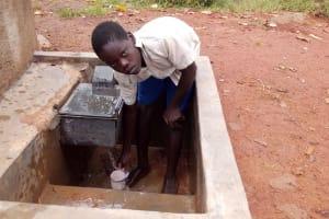The Water Project: Ebulondi Primary School Rainwater Harvesting and VIP Latrines -