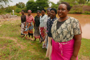 The Water Project: Itoo Self-Help Group Shallow Well Project -