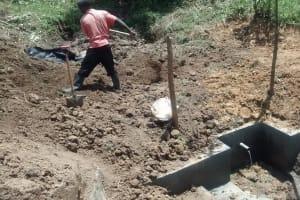 The Water Project: Nakhayaka Community, Namburu Spring -