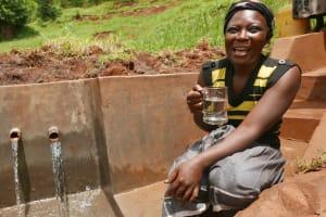 The Water Project: Shiyenga Community, Shiyenga Spring -