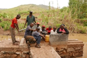 The Water Project: Yavili Self-Help Group Shallow Well -