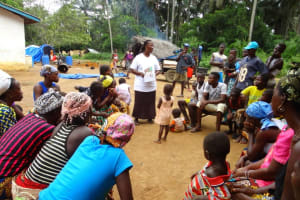 The Water Project: Youria Community New Well Project -