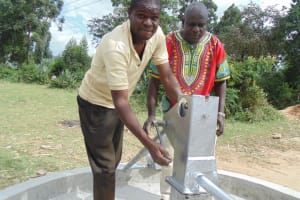 The Water Project: Chesero Well Rehabilitation Project -