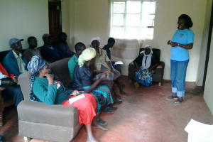 The Water Project: Ebusachi Community, Benson Andeso Spring -