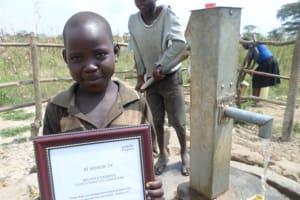 The Water Project: Jeeja I Bahati Hand Dug Well -