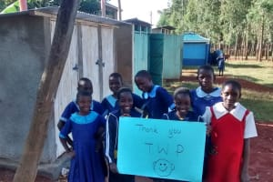 The Water Project: Kakamega Township Primary School Rainwater Catchment Project -