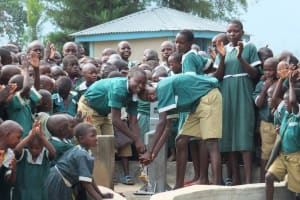 The Water Project: Mache Primary School Well Rehabilitation Project -