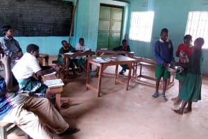 The Water Project: Essumba Primary School Rainwater Catchment Project -