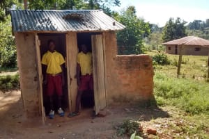 The Water Project: Iguyio Primary School Rainwater Catchment Project -