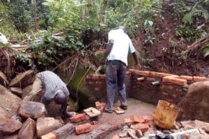 The Water Project: Emmunwa Community, Elkana Mahonga Spring -