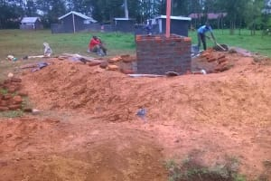 The Water Project: Amalemba Primary School Rainwater Catchment Project -