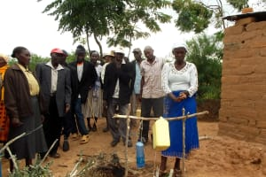 The Water Project: Kilala North New Well Project -