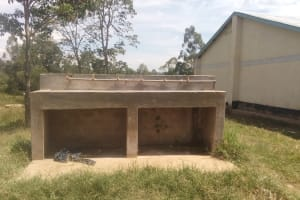 The Water Project: Friends Mukhonje Secondary School -
