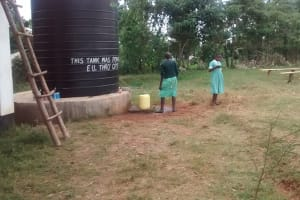The Water Project: Kidinye Secondary School Rainwater Catchment Project -
