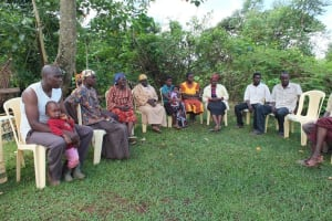 The Water Project: Mang'uliro Community Well Rehabilitation Project -