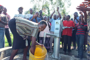 The Water Project: Luyeshe Community Well Rehabilitation Project -