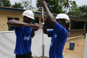 The Water Project: #5 Dumbuya Road New Well Project -