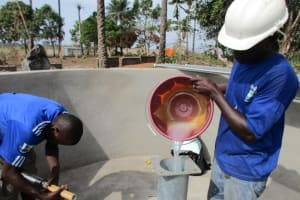 The Water Project: Sanaya Memorial Academy Secondary School New Well Project -