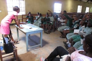 The Water Project: Cheptulu Primary School Rainwater Catchment Project -
