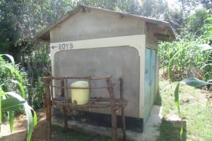 The Water Project: Ebwambwa Secondary School Rainwater Catchment Project -