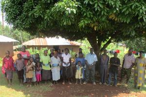The Water Project: Emmuli Ebutuku Community, John Maganga Spring -
