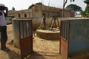The Water Project: #7 Kamara Taylor Street Well Rehabilitation Project -