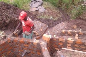 The Water Project: Ejinja Community, Mark Ashikuku Spring -