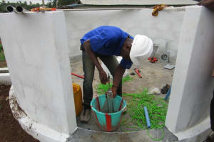 The Water Project: #1 Kamara Taylor Street New Well Project -