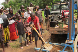The Water Project: Yinkaya Village New Well Project -