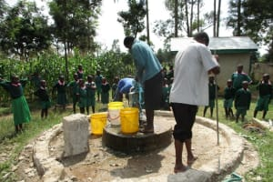 The Water Project: Mavusi Primary School Well Rehabilitation Project -