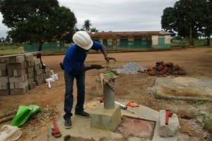 The Water Project: Ahmadiya Muslim Primary School Well Rehabilitation Project -