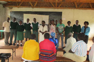 The Water Project: Chambiti Secondary School Rainwater Catchment Project -