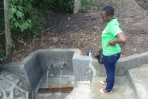 The Water Project: Makale Community, Peter Indeche Spring -