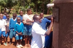 The Water Project: St. Theresa's Musaa Primary School Rainwater Catchment Tank -