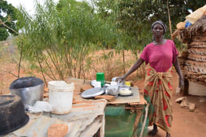 The Water Project: Kithuani New Well Project -