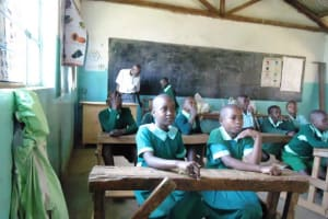 The Water Project: Matende Primary School Rainwater Catchment Project -