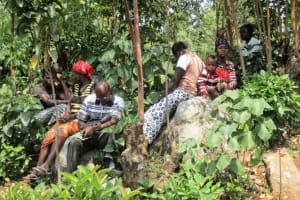The Water Project: Mang'ang'a Community, Mang'ang'a Spring -
