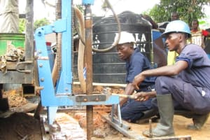The Water Project: #5 Main Motor Road New Well Project -